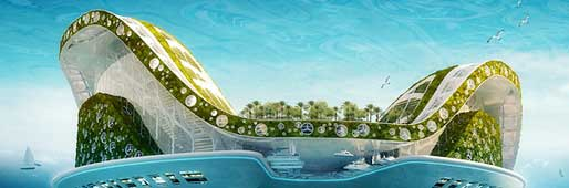 what will the future commnuties look like some say the hydropolis is our future - Lilypad Architecture