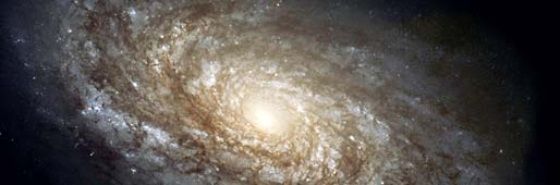 Artists rendering of a spiral galaxy